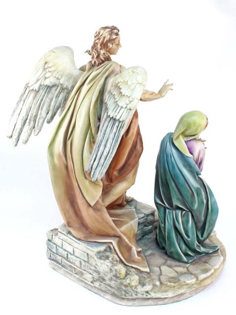 Rare Antonio Borsato Figurine The Annunciation