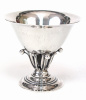Georg Jensen Sterling GJ Mark 17A Footed Bowl